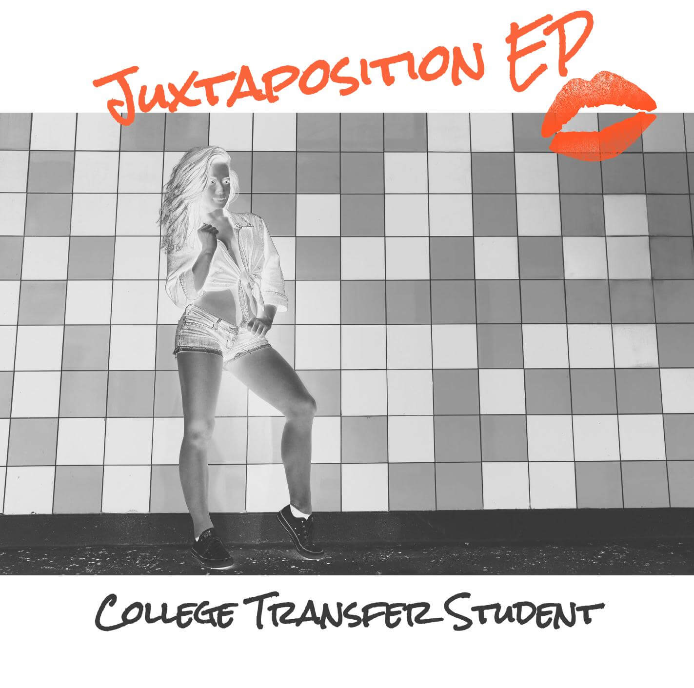 College Transfer Student Juxtaposition EP Album Artwork