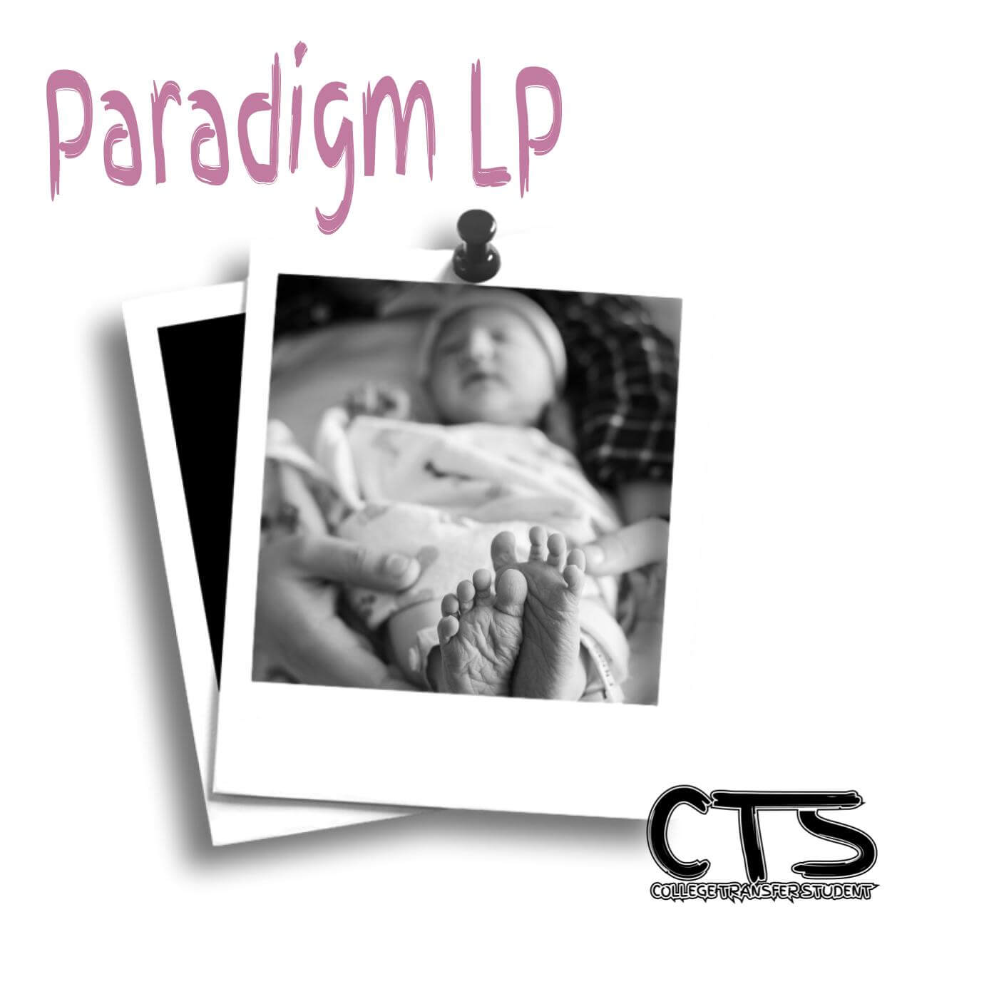 Album Artwork: Paradigm LP by College Transfer Student