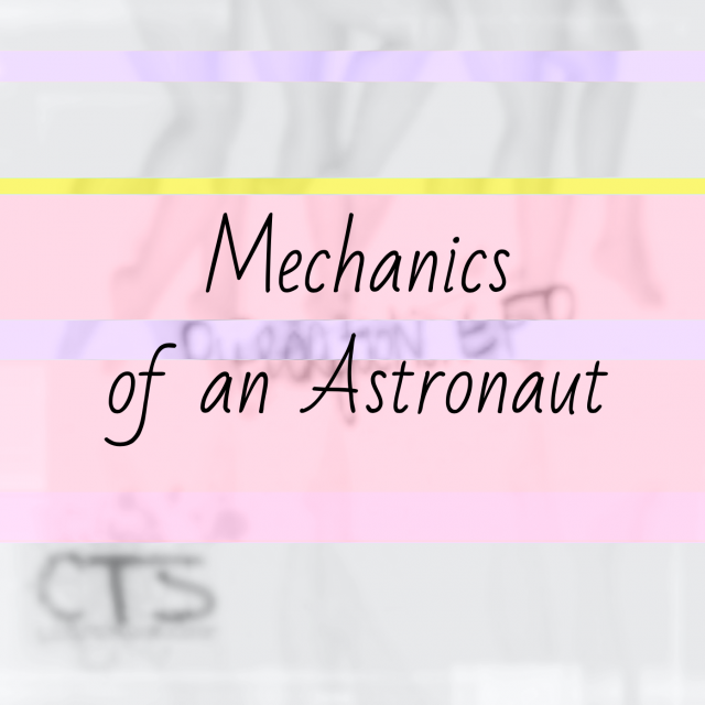 Mechanics of an Astronaut by College Transfer Student